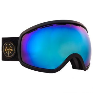 Gogle narciarskie Majesty One11 2016/17 black matt/blue sapphire mirror