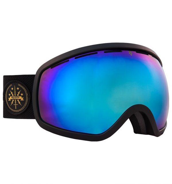 Gogle narciarskie Majesty One11 2016/17 black matt/blue sapphire mirror