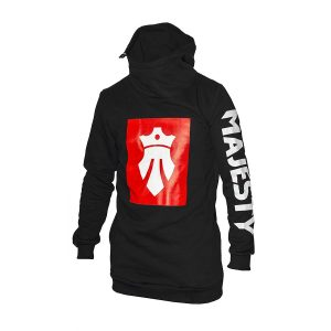 Team hoodie 2016/17 black/red/white