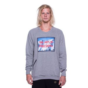 Bluza The Art of Freeskiing 2018 grey