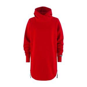Velvet Lady Hoodie red