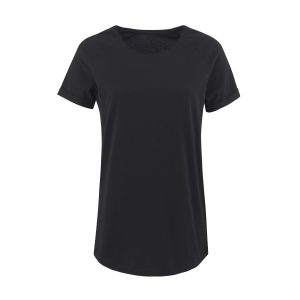 Lady T-shirt Velvet black