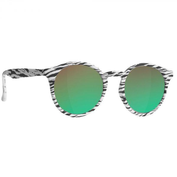 Okulary narciarskie - Lynx zebra / green emerald