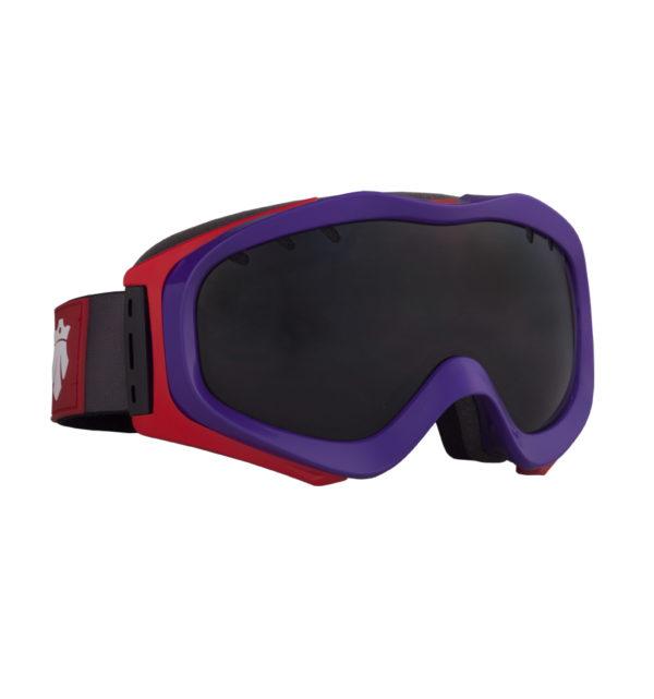 Gogle narciarskie patrol-201617-purplered-frameblackpearl