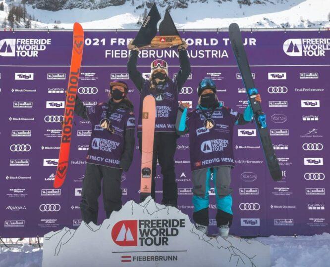Zuza Witych na nartach Majesty wygrywa Freeride World Tour