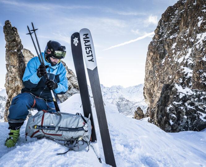 Kije skiturowe Majesty